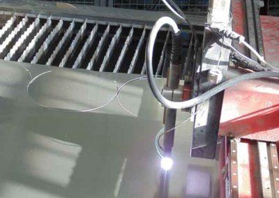 Máquina de corte por plasma de control numérico 02